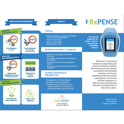 RxPense Trifold Brochure
