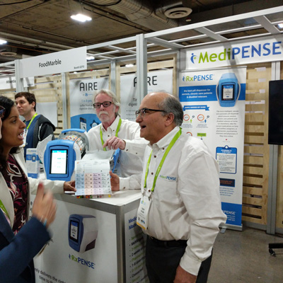 Medipense Exhibits at CES 2018