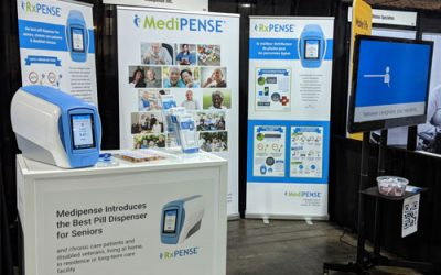 Medipense Demonstrates RxPense®, the Best Pill Dispenser for Seniors, at Together We Care 2018, Toronto