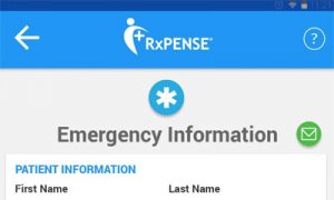 rxpense-emergency-info