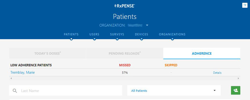 RxPense Medication Adherence