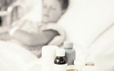Un enfant éprouve un médicament Erreur toutes les 8 minutes
