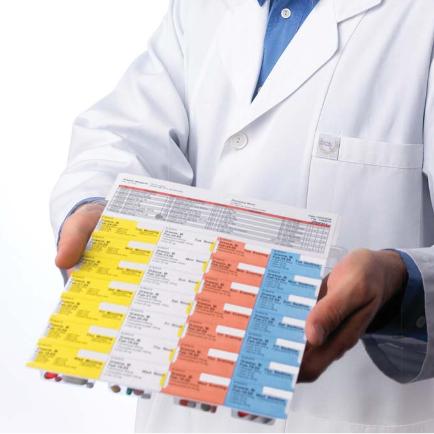 Les emballages en blister sont les meilleurs moyens d'administrer sans risque des médicaments solides