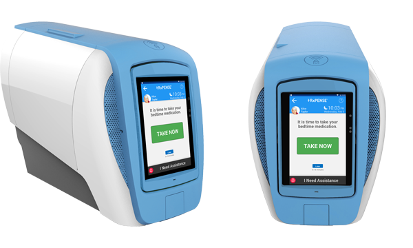 multilingual pill dispensers, the RxPense Hub is the best dispenser for seniors