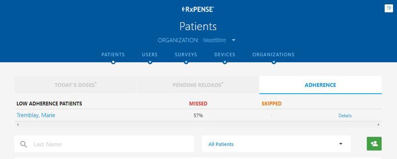 RxPense Medication Adherence